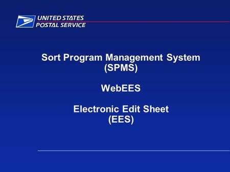 Sort Program Management System