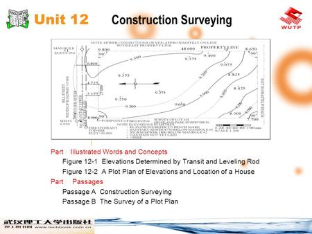 Unit 12 Construction Surveying