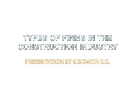 The construction process involves the translation of client needs and intentions first into documents and other information, and later into a physical.