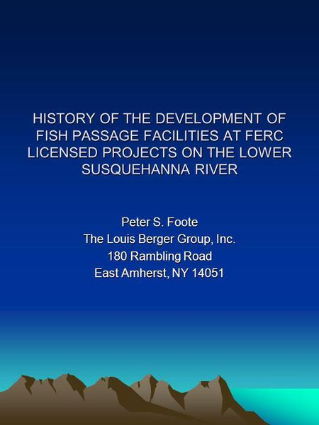 history of the development of the