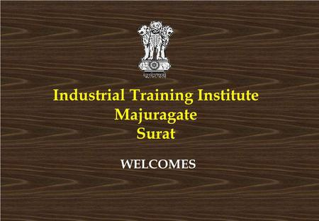 <strong>Industrial</strong> Training Institute Majuragate Surat