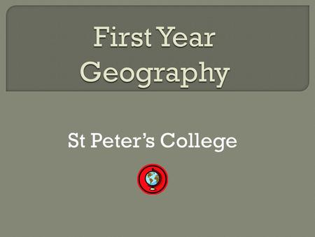 St Peters College. It is important that students come to class prepared Each student should have their text book and notes copy for each class.