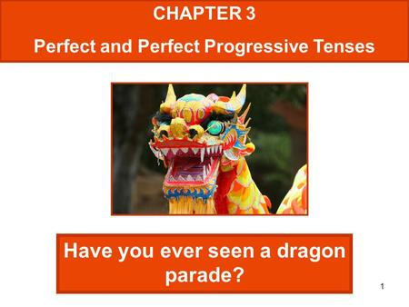 Have you ever seen a dragon parade?