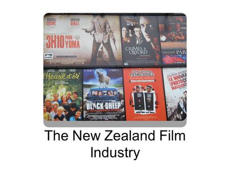 The New Zealand Film Industry. Demonstrate understanding of a specific media industry Level3Credits4AssessmentExternal AchievementAchievement with MeritAchievement.