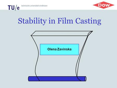 Stability in Film Casting