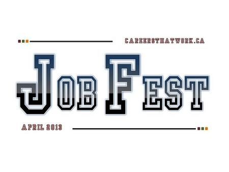 Job Fest is a career planning activity that provides grade 11 students in the Anglophone South School District with information to help them to successfully.