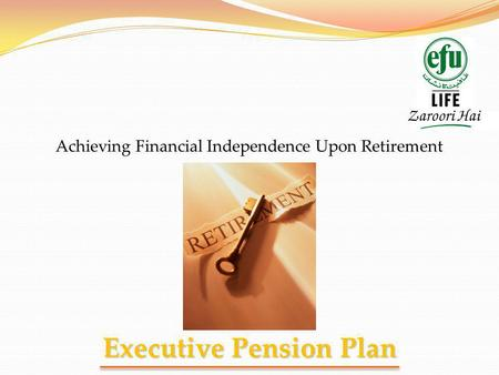Executive Pension Plan
