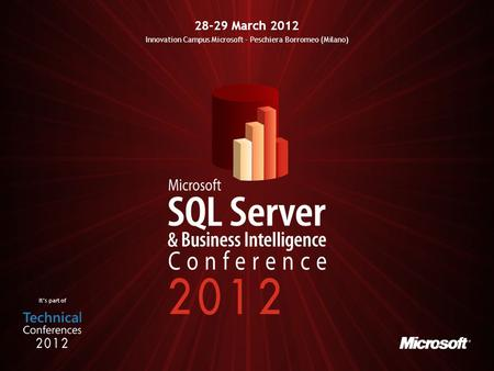 Its part of 28-29 March 2012 Innovation Campus Microsoft - Peschiera Borromeo (Milano)