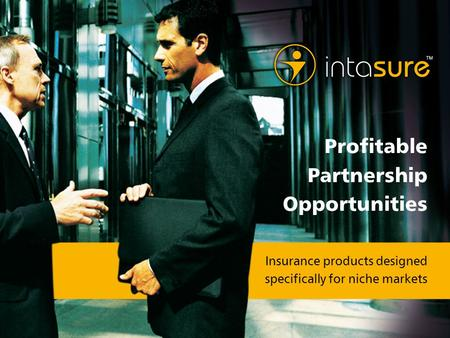 Insurance products designed specifically for niche markets Profitable Partnership Opportunities.