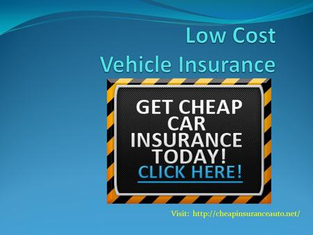 Visit:  What is a Vehicle Insurance and How Does It Work? Vehicle insurance (also known as auto insurance, GAP insurance,
