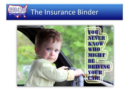 The Insurance Binder Contingent Excess Liability Insurance Your Customers Primary Insurance.