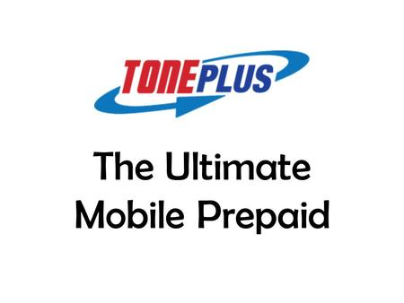 The Ultimate Mobile Prepaid. 37 million 29.9 million Multi Billion Ringgit Industry Now YOU can be a part of it!