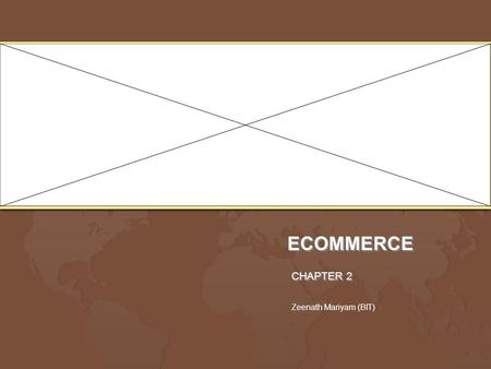 ECOMMERCE CHAPTER 2 Zeenath Mariyam (BIT). Electronic communications disruptive technologies Communications approaches which change the way in which information.