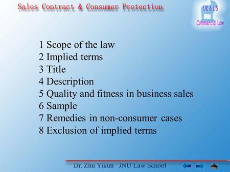 law title