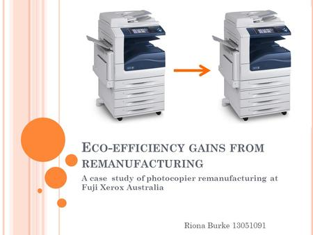 photocopier case study As with all workplace hazards, photocopiers and other copying equipment should  laser printers: there have been a number of recent studies on the laser printer  toner rather than replacing a cartridge, as is the case with newer machines.