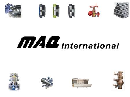 MAQs Vision: Our vision is to be a leading global supplier of technology and innovative solutions for development and betterment of the industry MAQs.