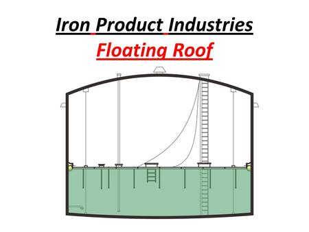 Iron Product Industries Floating Roof. Benefits- Savings - Preventing evaporation of product, which will pay for itself in less than a year Prevents Pollution.
