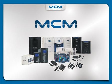 MCM Controles Eletrônicos Ltda. Established in 1983, MCM is currently based in its 10,000 m² of facilities, divided into 3 units, in Santa Rita do Sapucaí,