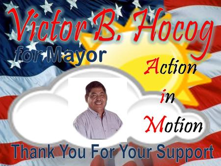To the people of Rota, allow me to report my A AA A ctions in the 16 th CNMI Legislature as your Representative...
