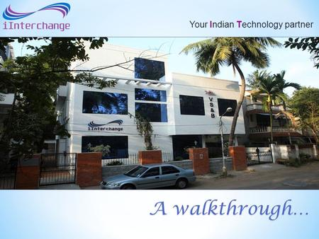 Your Indian Technology partner A walkthrough…. The Mandate To develop and deliver specialized IT solutions for the Global Container Shipping and Logistics.