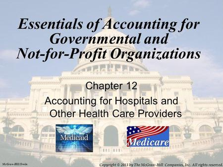 Accounting for Hospitals and Other Health Care Providers