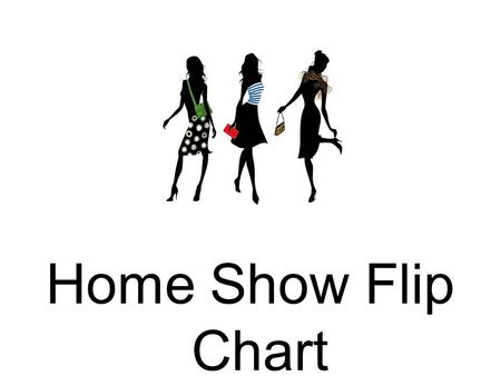 Home Show Flip Chart. WELCOME! Ok everyone we are officially going to get started. My name is _____ and I am very excited to be here today. First I would.