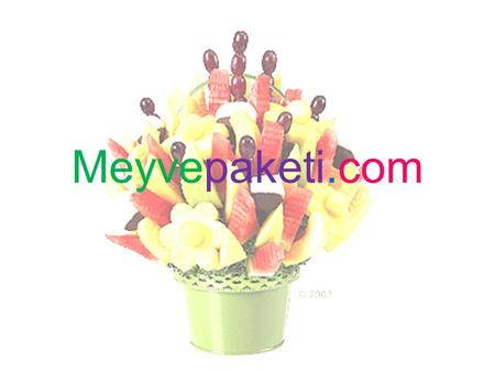 Meyvepaketi.com. Industry And Market Analysis Edible fruit bouquets first became popular gifts for holidays, birthdays and corporate events. Edible Arrangements.