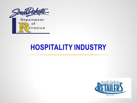 HOSPITALITY INDUSTRY. 4% States Sales TaxUp to 2% Municipal Sales Tax1% Municipal Gross Receipts Tax1.5% Tourism Tax TAXES THAT MAY APPLY TO RECEIPTS.