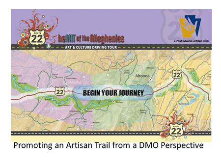 Promoting an Artisan Trail from a DMO Perspective.