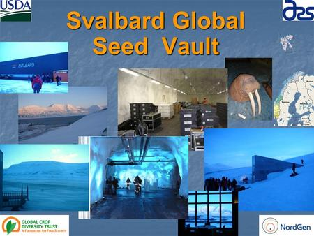 Svalbard Global Seed Vault. Source of Seed samples by Country of Collection of January 29, 2010