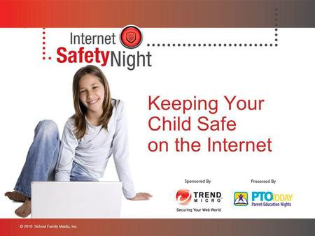 Keeping Your Child Safe on the Internet. Welcome We are first-generation Internet parents Our children are the first generation to be born and raised.