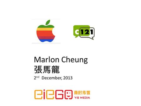 Marlon Cheung 2 nd December, 2013. AppleLink was the name of both Apple Computer's online service for its dealers, third party developers, and users,