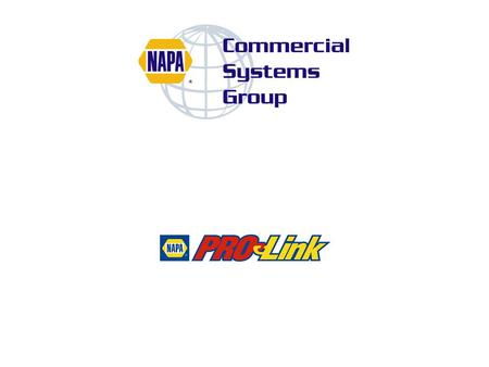 n A new way for Commercial Accounts to purchase electronically from NAPA AUTO PARTS Stores n Wholesale Customers can Browse the NAPA Catalog online n.