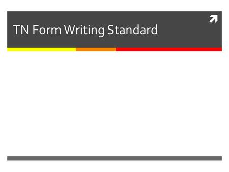 TN Form Writing Standard. Why we need a standard for this? TN Form with TN AN, EP AN and memo-deal is equal to agreement / contract. This is the only.