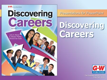 CHAPTER 1 The World of Work IMPORTANCE OF CAREERS Section 1.1.