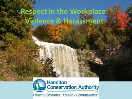Respect in the Workplace: Violence & Harassment. Introduction We would all like to think ourselves as safe at work, however, wherever people interact.
