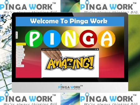 What is Pinga ?. What is Pinga ? The global way to your success !! Alone we dreamt.. together we created… We may pre, post, or reactively moderate.
