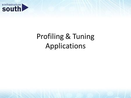 Profiling & Tuning Applications. Overview Performance limiters – Bandwidth, computations, latency Using the Visual Profiler Checklist Case Study: molecular.