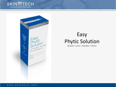 Easy Phytic Solution (Glycolic + Lactic + Mandelic + Phytic)