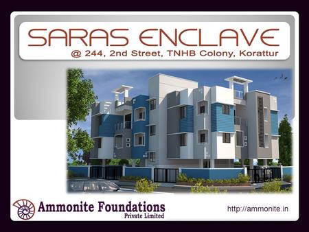 About Stilt Plus 2 Floors 2BHK & 3 BHK Apartments 820 Sq.ft to 1130 Sq.ft Units 1.20 Grounds (2900 Sq Feet) Site 244, 2.