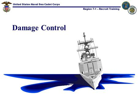 United States Naval Sea Cadet Corps Region 7-1 – Recruit Training Damage Control.