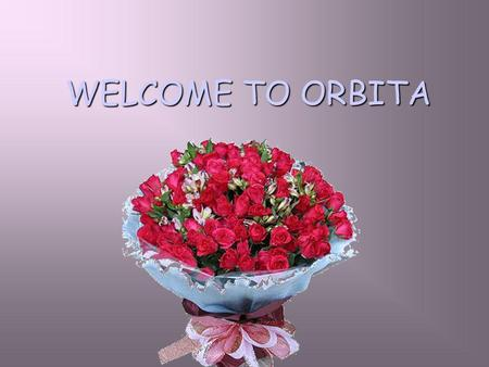 WELCOME TO ORBITA. ABOUT US Orbita is one of the biggest card operated locking systems supplier for the hospitality industry in China, established to.