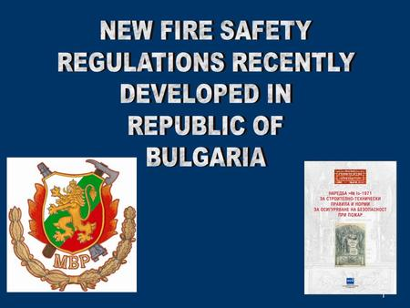 1. 2 The control of implementation of fire protection requirements during the process of design, construction and operation of buildings and structures.