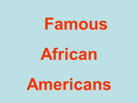 Famous African Americans 1996 Honorees – Henry Aaron.