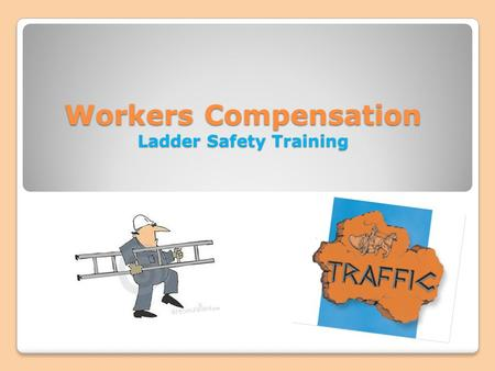 Workers Compensation Ladder Safety Training. Portable Ladder Safety Introduction Ladders are important and essential tools that are used widely in a variety.