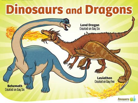 When did Dinosaurs live? Land animals were created on Day 6. (Genesis 1:24) Man was created on Day 6. (Genesis 1:26) Therefore Man and Dinosaurs lived.