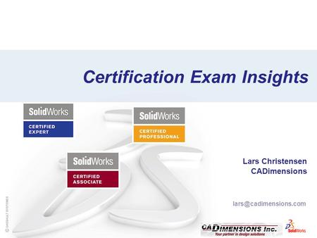 Certification Exam Insights