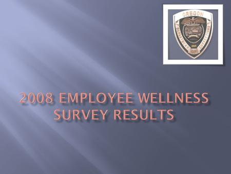 During December, 2008, 1191* staff took the survey. At that time DOC had 4,350 employees. This is a 27% response rate. DOCs research staff report that.