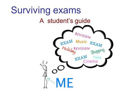 Surviving exams A students guide. How many stars can you draw in 1 min?