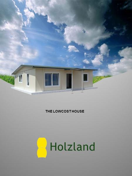 THE LOW­COST HOUSE. Model 49 Outside dimensions: 7,00 m x 7,02 m = 49 m² Room layout: living room, 2 bedrooms, kitchenette, bathroom.
